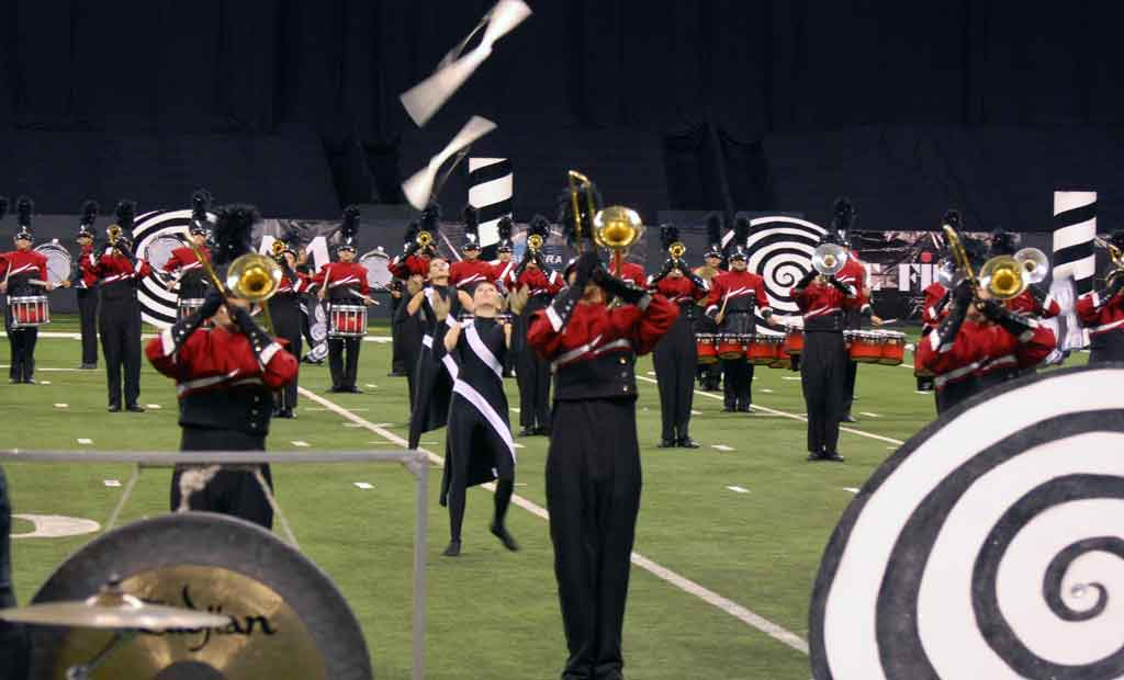 how to build marching band props