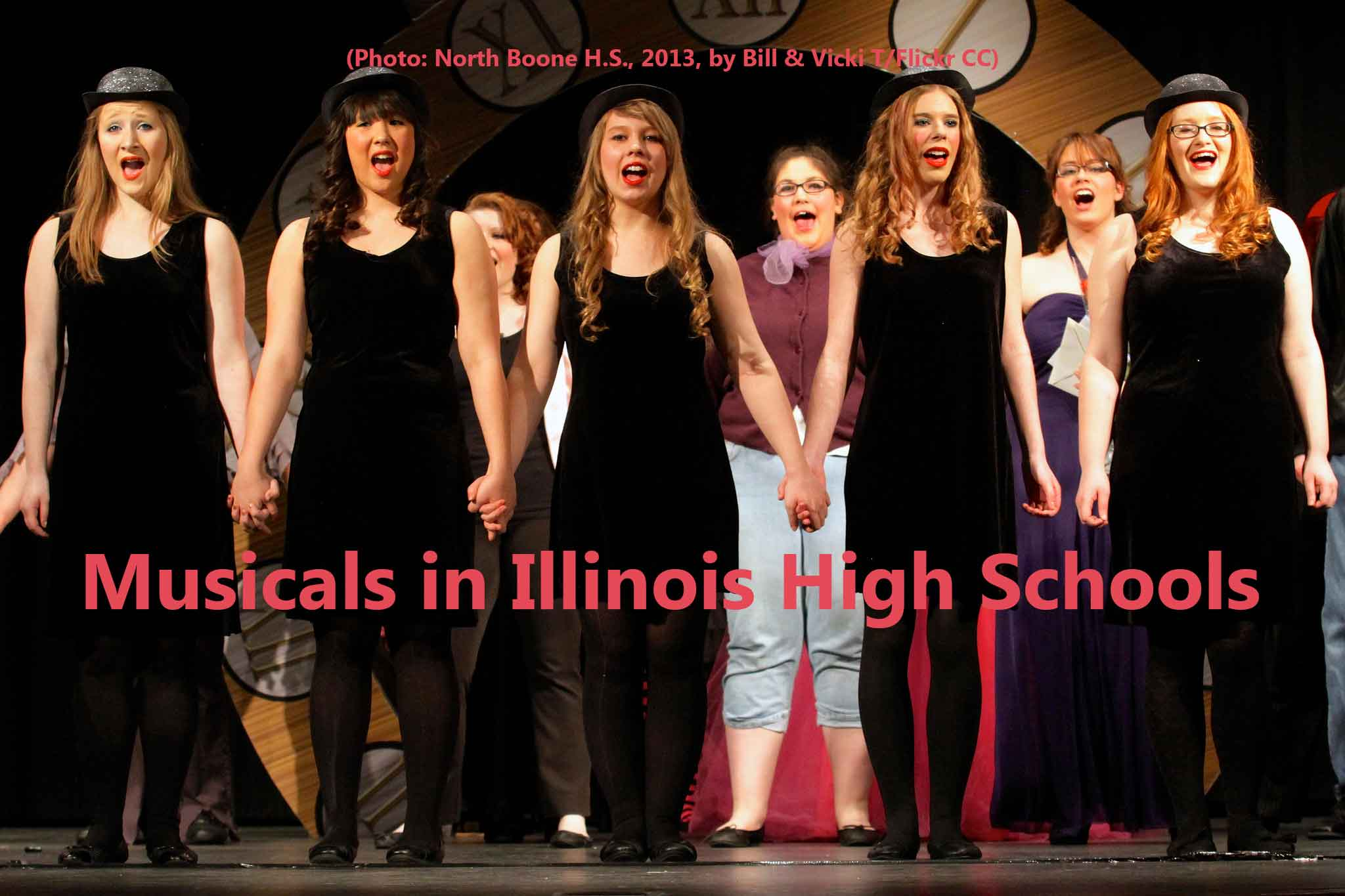 High school appropriate musicals list