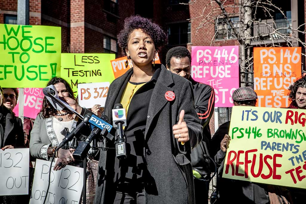 Parents in Brooklyn choose to opt-out of state-mandated testing, Girl Ray via Flickr Creative Commons