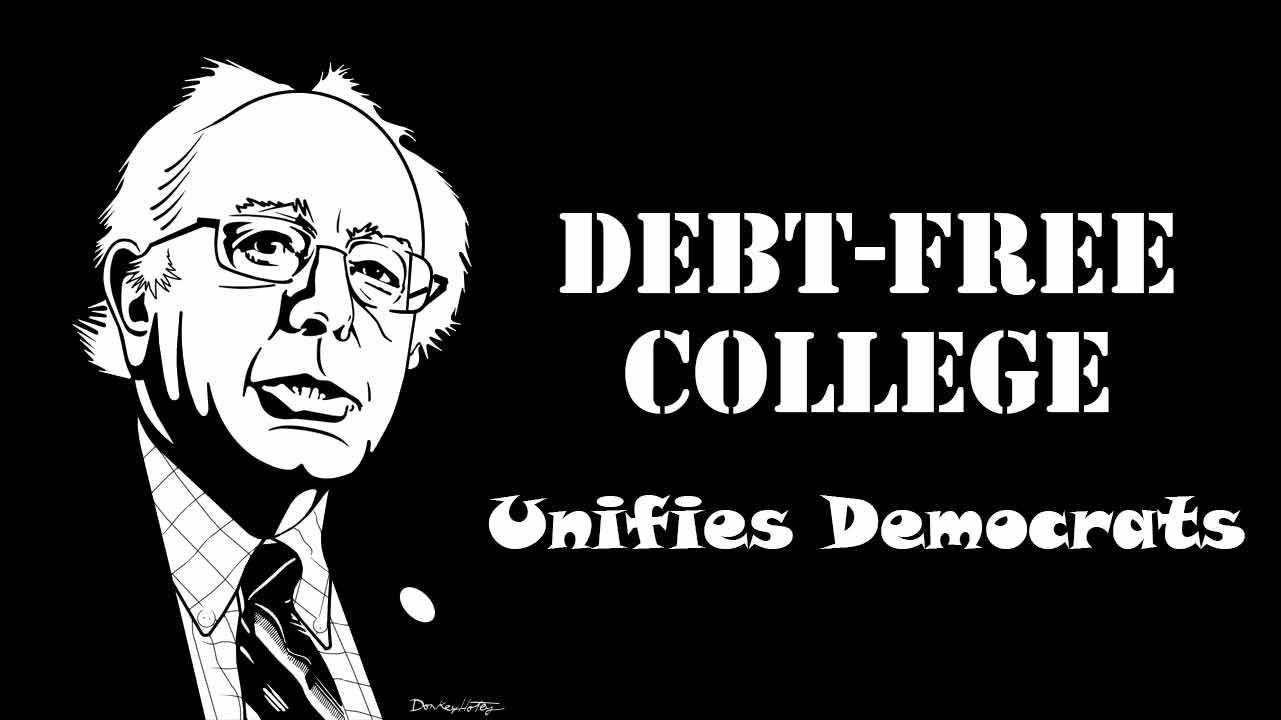 Debt-free college unifies Democrats