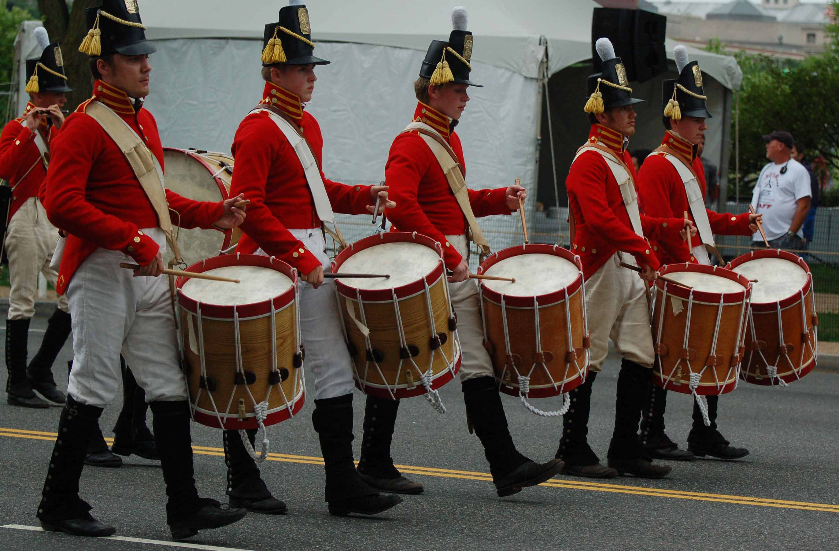 Fort McHenry Fife and Drum Corps in Washington DC July 4 2016