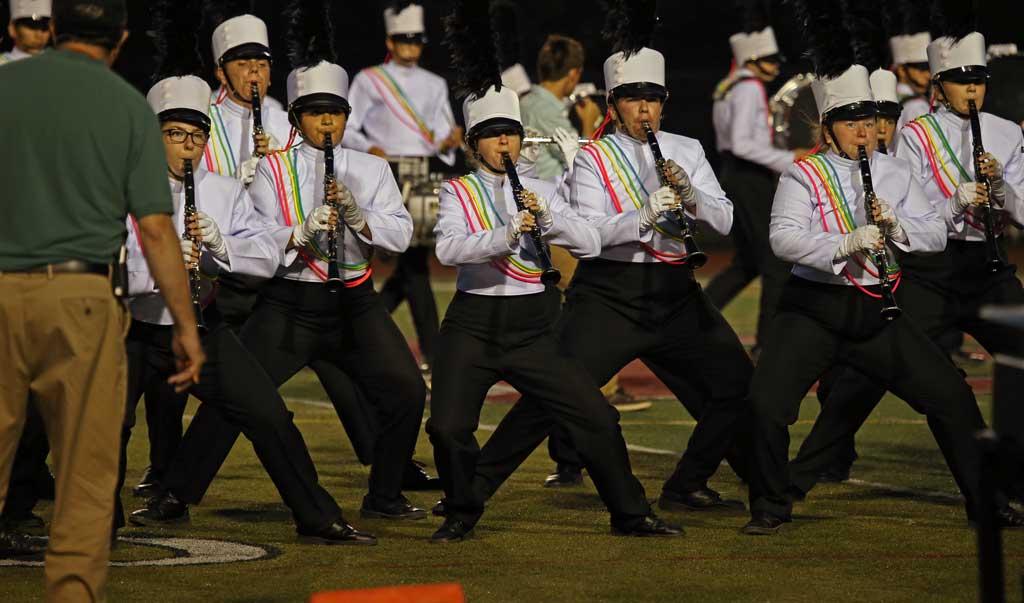 Batavia High School marching band September 2016