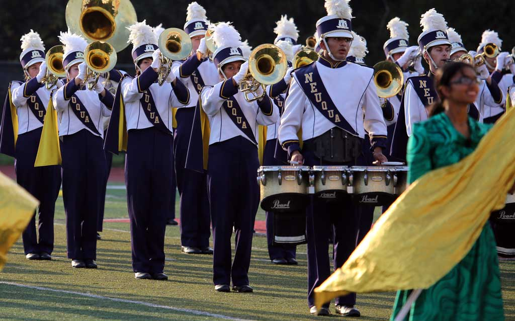 Neuqua Valley High School marching band September 2016
