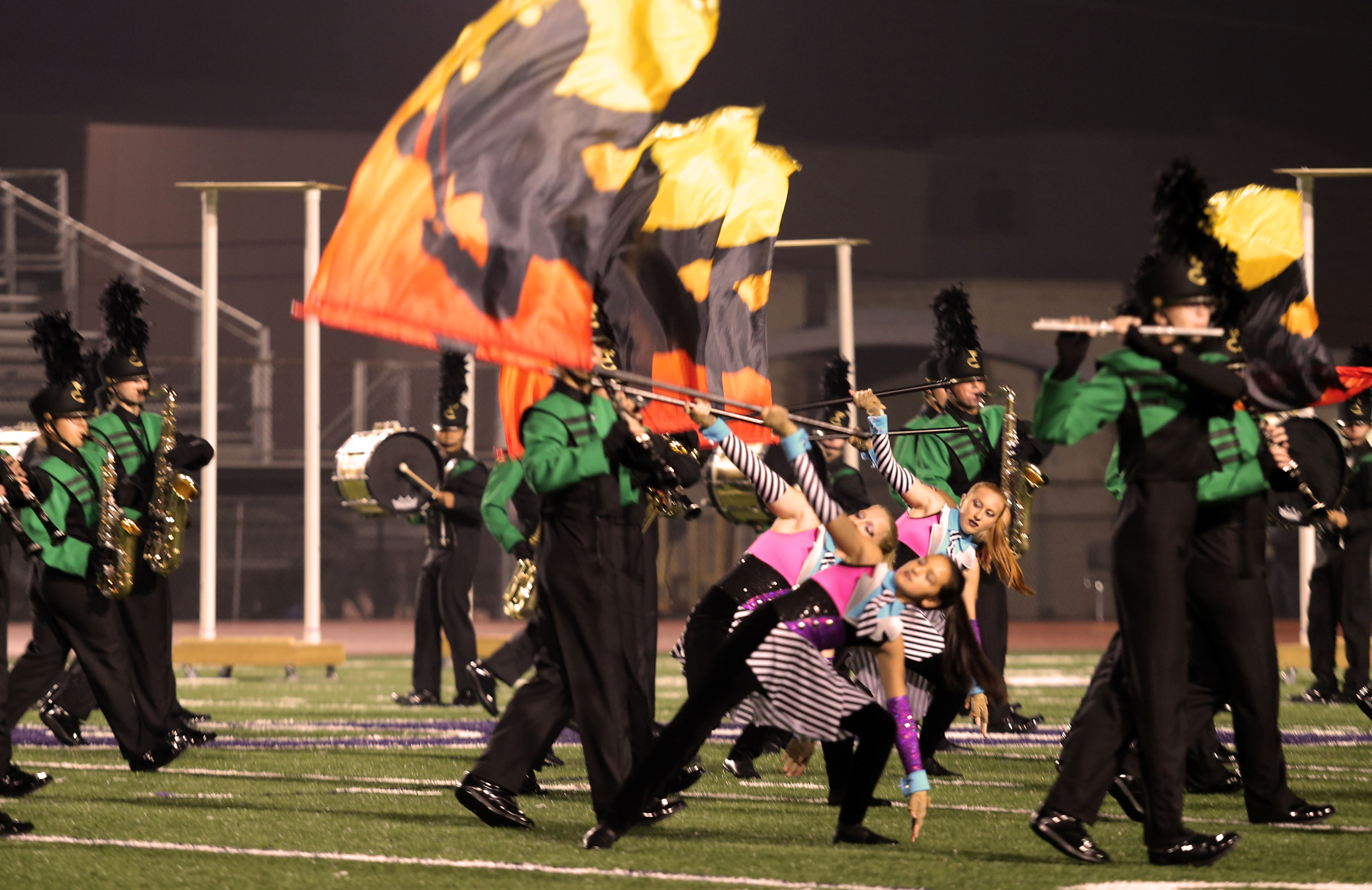Articles about color guard - Floyd Central High School Floyds Knobs Directed By Harold Yanka Phil Thomas