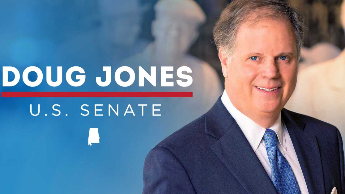 Doug Jones, Democrat and US Senator-elect from Alabama