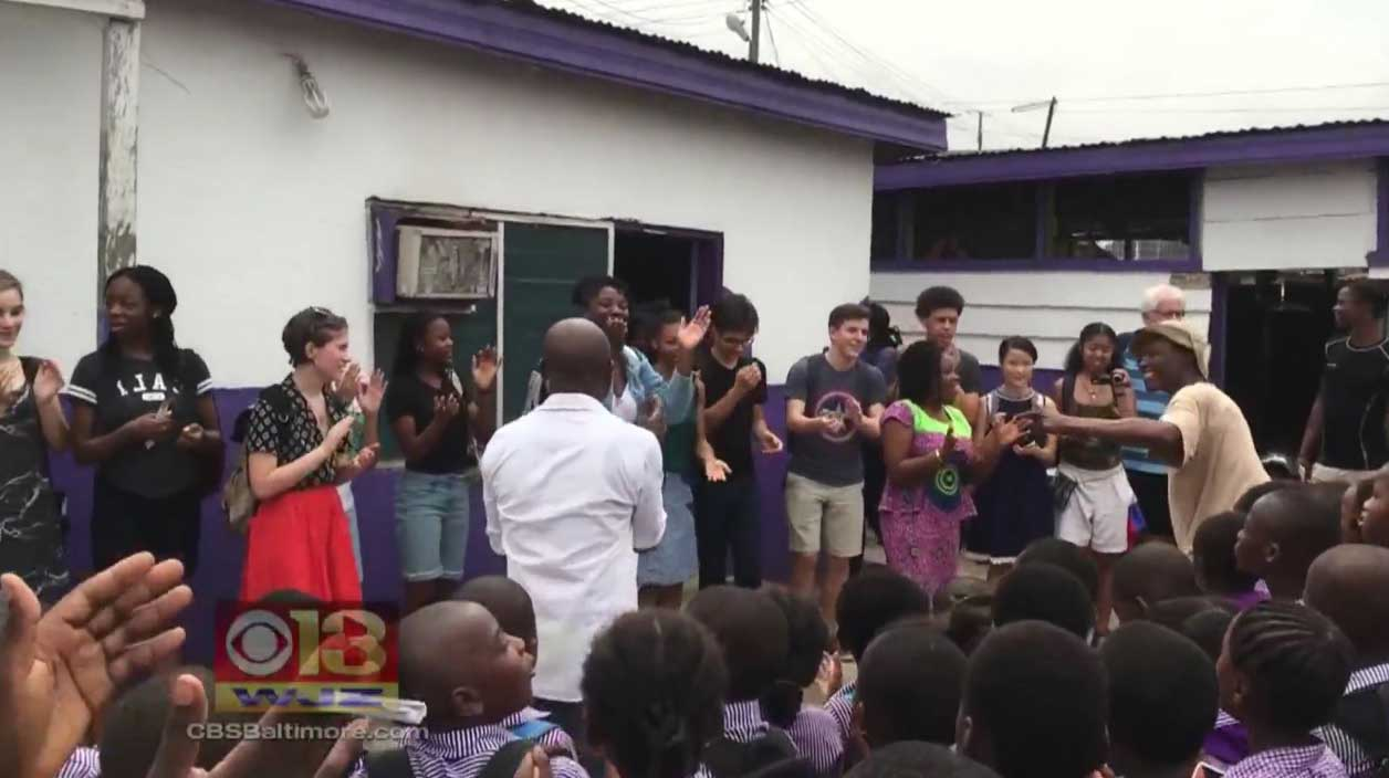 Opening Students Eyes To A World Of Art In Ghana