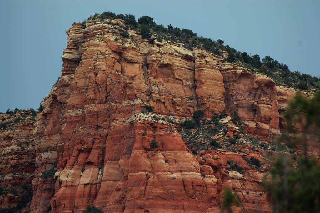 red rock layers of sedona show natural history � voxitatis